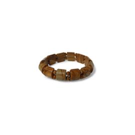 Armband met gele Jaspis