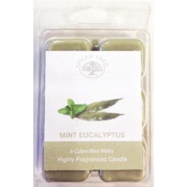 Wax Melts Mint Eucalyptus, 80gr, Green Tree