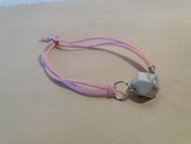 Moderne roze armband met Magnesiet