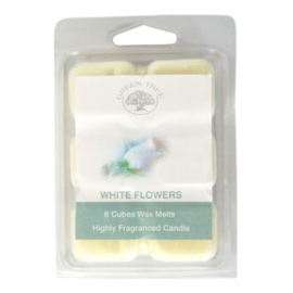 Wax Melts White Flowers, 80gr, Green Tree