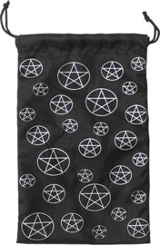 Tarotzakje Pentagram Zwart