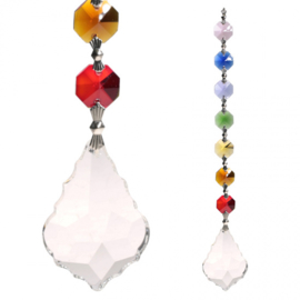 """Harmony"" Feng-Shui Chakra Raamkristal"
