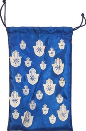 Tarotzakje Hand of Fatima Blauw