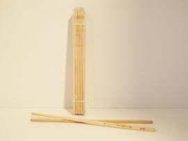 Eetstokjes bamboe, set van 2 stuks