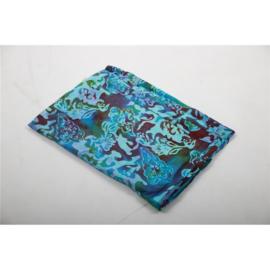 Sarong / Pareo blauw en turquoise