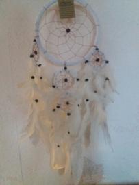 Dromenvanger wit, diameter ring 16 cm