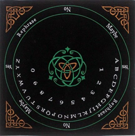 Pendelmat Keltisch zwart vierkant