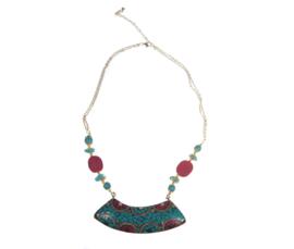 Collier in Navajo stijl fantastisch mooi authentiek sieraad