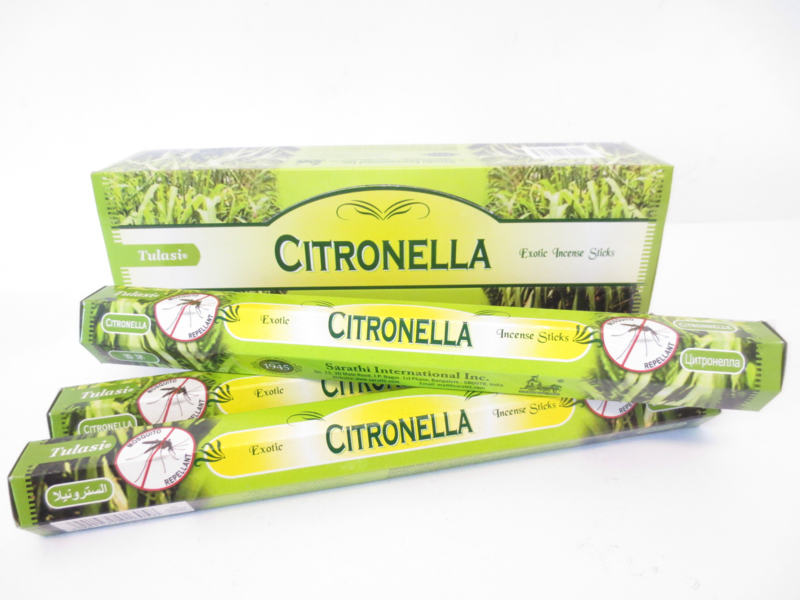 Tulasi Citronella wierookstokjes