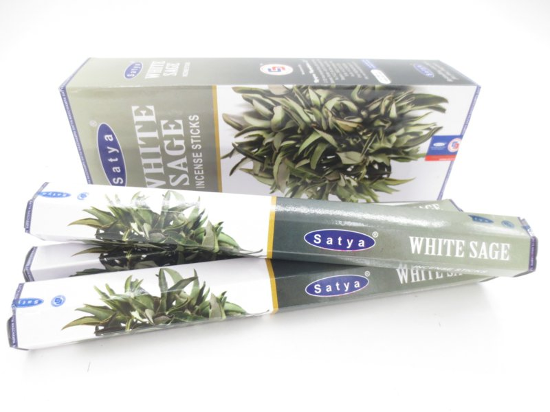 Satya White Sage wierookstokjes