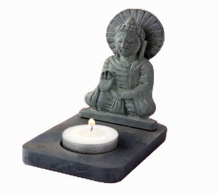 Sfeerlicht Boeddha Waxinelichthouder