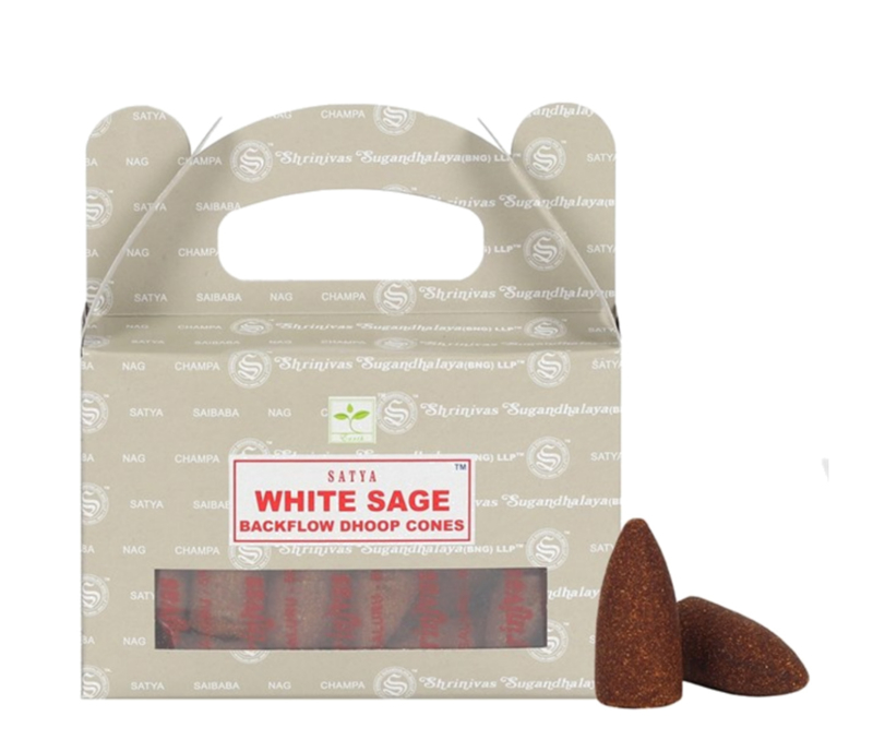 Satya White Sage Backflow kegel