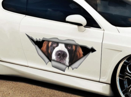 Saint Bernard Vinyl Sticker.