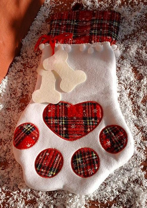 Christmas stocking for your pet