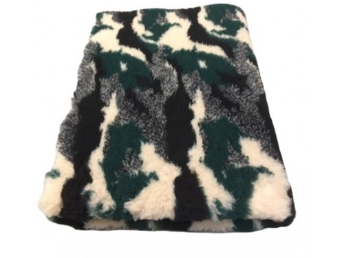 pet bed anti slip camouflage