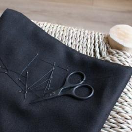 Crepe Black -  viscose stof