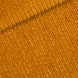 Dusan Brown Brede Rib -  Corduroy stof