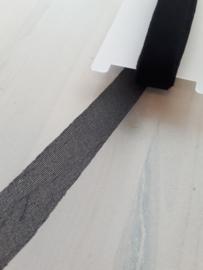 Vlieseline Flexibele Naadband 15mm (zwart)