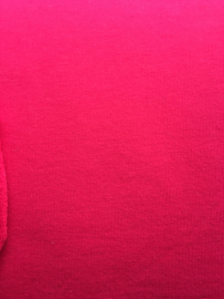 Uni Framboos - sweat stof