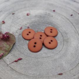 Chestnut Classic Matte - knoopjes 15 mm