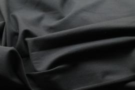 Uni zwart - tricot stof