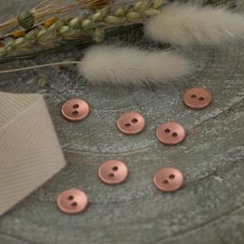 Rosé Koper Glad - knoopjes 11 mm