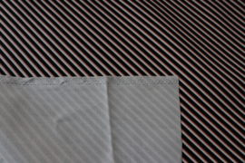 Diagonals - cotton canvas gabardine twill