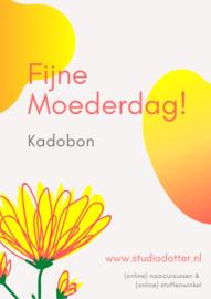 Moederdag Kadobon twv €25