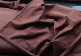 Uni cappuccino - tricot stof