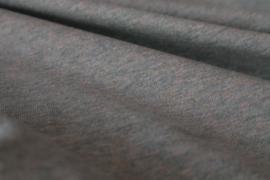 Uni mint melange - tricot stof