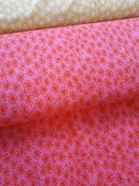 Pusteblummen Roze - Jacquard stof
