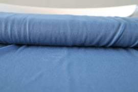 Blauw- modal stof