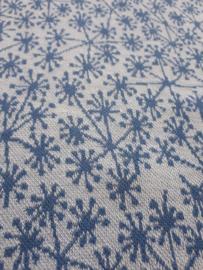 Pusteblummen Lichtblauw - Jacquard stof  - 110cm