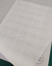 20 Vellen patroonpapier