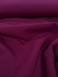 Uni Bordeaux - tricot stof