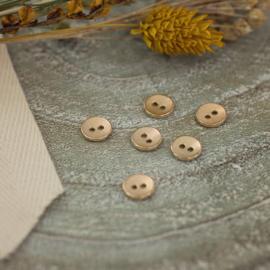 Zacht Goud Textuur - knoopjes 11 mm
