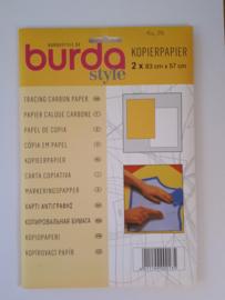 Kleermakerscarbonpapier (geel/wit)