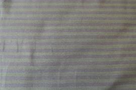 Mosgroen/olijf gestreept - tricot stof