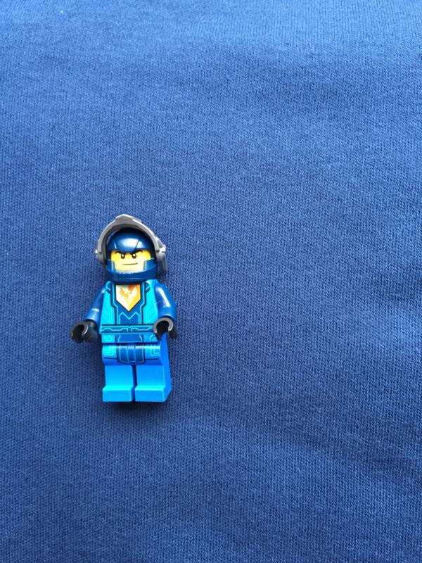 Interlock blauw