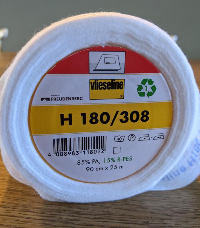 Plakvlieseline H180, voor dunne, geweven stoffen