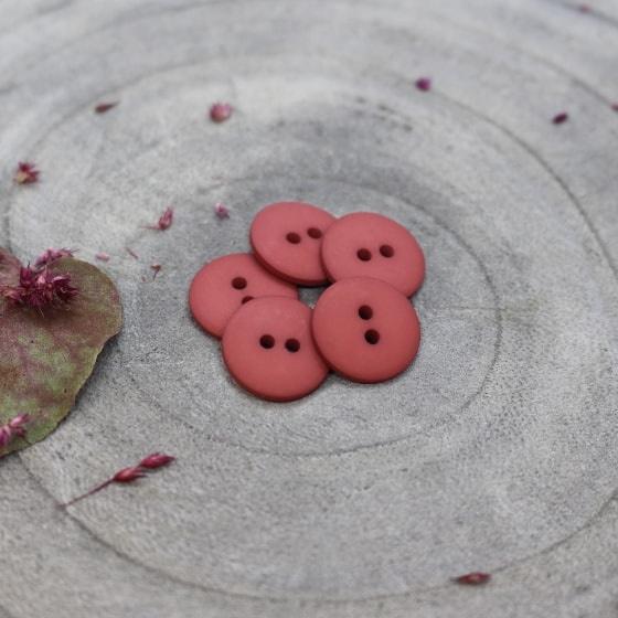 Terracotta Classic Matte - knoopjes 15 mm