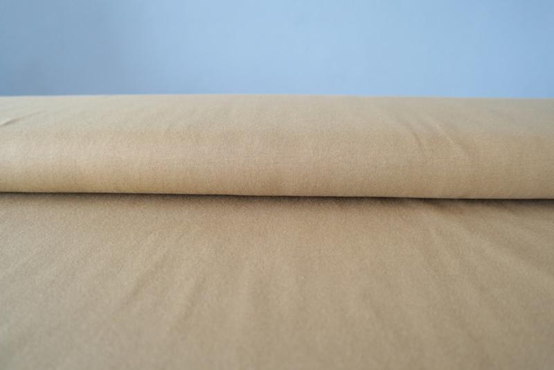 Uni olijfgroen - tricot stof