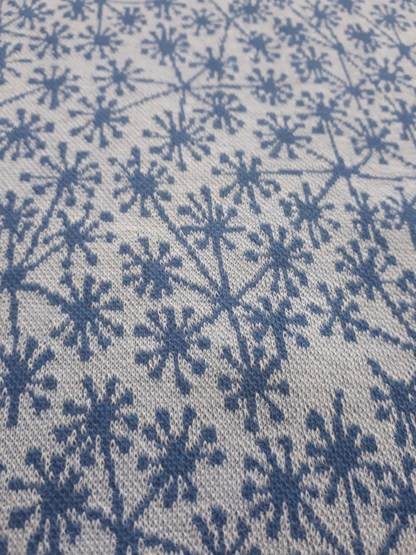 Pusteblummen Lichtblauw - Jacquard stof - 120 cm