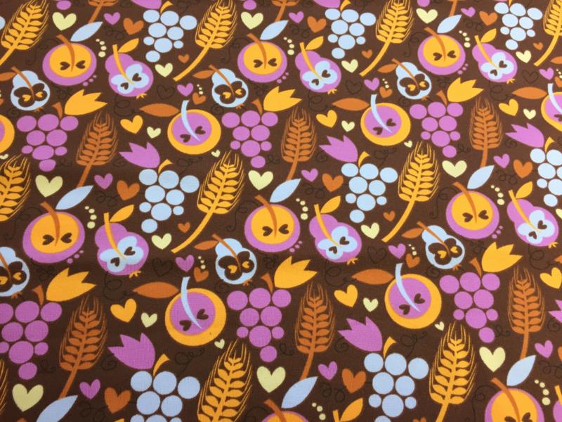 Harvest- tricot stof