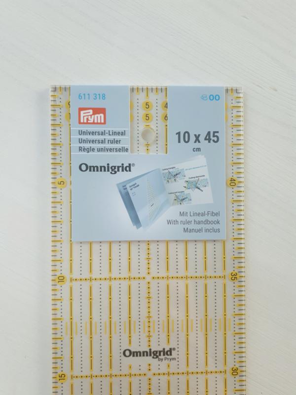 Omnigrid liniaal 10x45