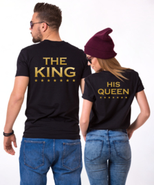 T-shirt The King/His Queen