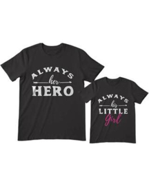 Hero / Little Girl set