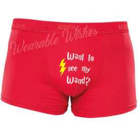 Boxershort Want to see my wand?