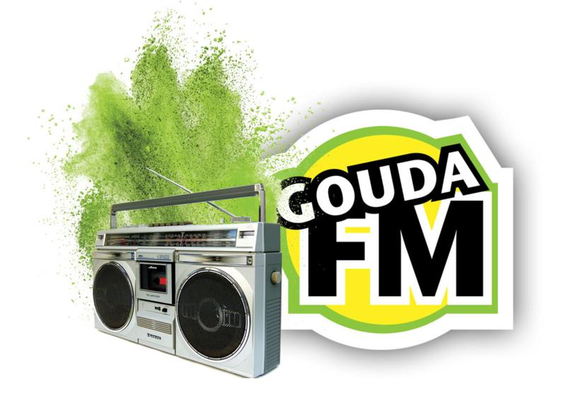 4 weken radiocampagne op GoudaFM