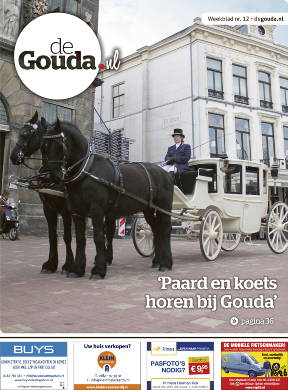 Advertentie in deGouda